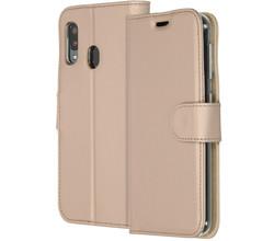 Accezz Accezz Wallet Softcase Booktype Samsung Galaxy A20e - Goud (D)