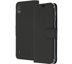 Accezz Accezz Wallet Softcase Booktype Samsung Galaxy A10 - Zwart (D)