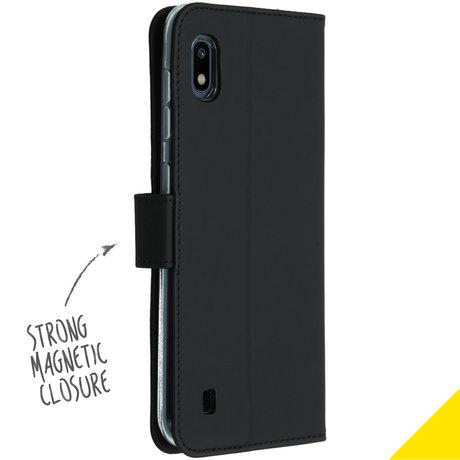 Accezz Wallet Softcase Booktype Samsung Galaxy A10 - Zwart (D)