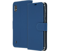 Accezz Accezz Wallet Softcase Booktype Samsung Galaxy A10 - Blauw (D)
