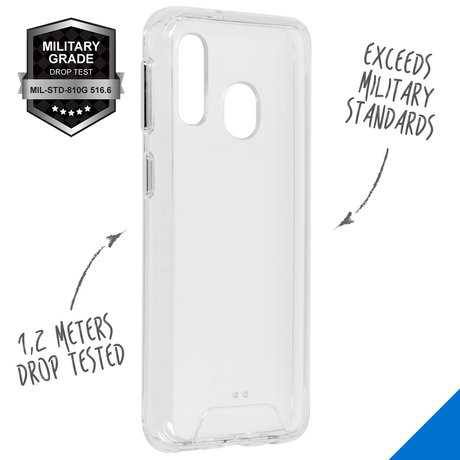 Accezz Xtreme Impact Backcover Samsung Galaxy A40 - Transparant (D)