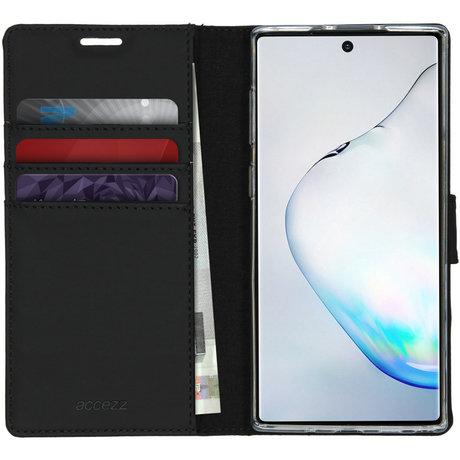 Accezz Wallet Softcase Booktype Samsung Galaxy Note 10 - Zwart (D)
