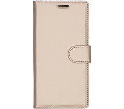 Accezz Accezz Wallet Softcase Booktype Samsung Galaxy Note 10 - Goud (D)