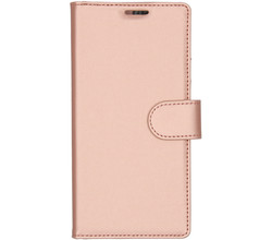 Accezz Accezz Wallet Softcase Booktype Samsung Galaxy Note 10 - Rosé Goud (D)