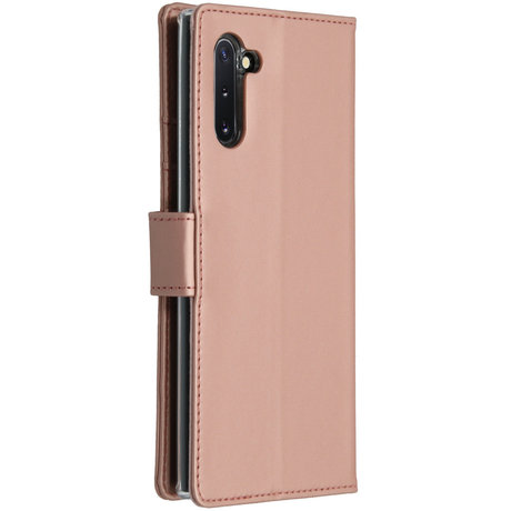 Accezz Wallet Softcase Booktype Samsung Galaxy Note 10 - Rosé Goud (D)
