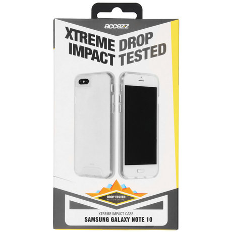 Accezz Xtreme Impact Backcover Samsung Galaxy Note 10 - Transparant (D)