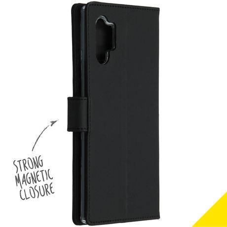 Accezz Wallet Softcase Booktype Samsung Galaxy Note 10 Plus - Zwart (D)