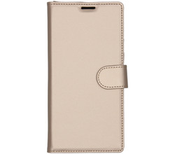 Accezz Accezz Wallet Softcase Booktype Samsung Galaxy Note 10 Plus - Goud (D)