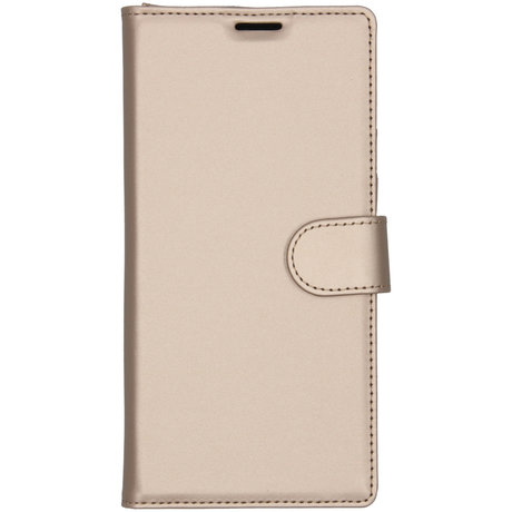 Accezz Wallet Softcase Booktype Samsung Galaxy Note 10 Plus - Goud (D)