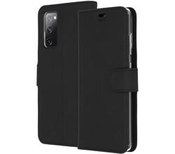 Accezz Accezz Wallet Softcase Booktype Samsung Galaxy S20 FE - Zwart (D)