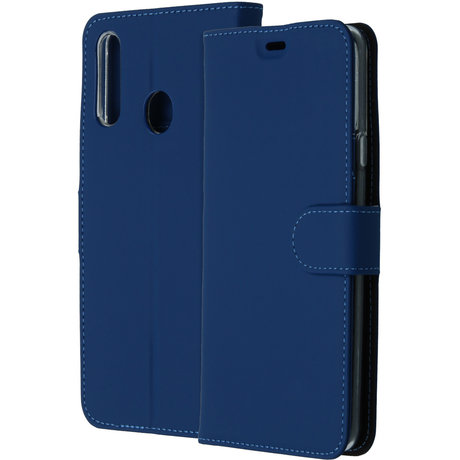 Accezz Wallet Softcase Booktype Samsung Galaxy A20s - Donkerblauw (D)