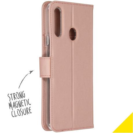 Accezz Wallet Softcase Booktype Samsung Galaxy A20s - Rosé Goud (D)