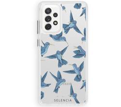 Selencia Selencia Fashion Extra Beschermende Backcover Samsung Galaxy A72 (D)