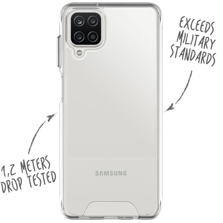 Accezz Xtreme Impact Backcover Samsung Galaxy A12 (D)