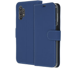 Accezz Accezz Wallet Softcase Booktype Galaxy A32 (5G) - Donkerblauw (D)