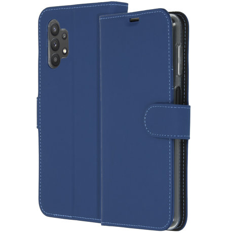 Accezz Wallet Softcase Booktype Galaxy A32 (5G) - Donkerblauw (D)