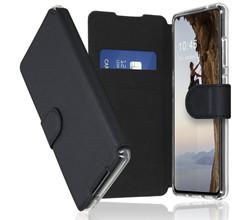 Accezz Accezz Xtreme Wallet Booktype Samsung Galaxy S21 FE - Zwart (D)