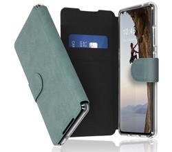 Accezz Accezz Xtreme Wallet Booktype Samsung Galaxy S21 FE - Lichtblauw (D)