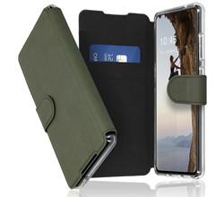 Accezz Accezz Xtreme Wallet Booktype Samsung Galaxy S21 FE - Lichtgroen (D)