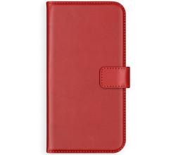 Selencia Selencia Echt Lederen Booktype Samsung Galaxy S10 Lite - Rood (D)