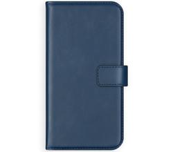 Selencia Selencia Echt Lederen Booktype Samsung Galaxy S10 Lite - Blauw (D)