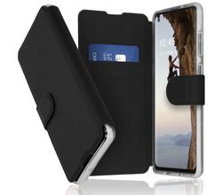 Accezz Accezz Xtreme Wallet Booktype Samsung Galaxy A21s - Zwart (D)