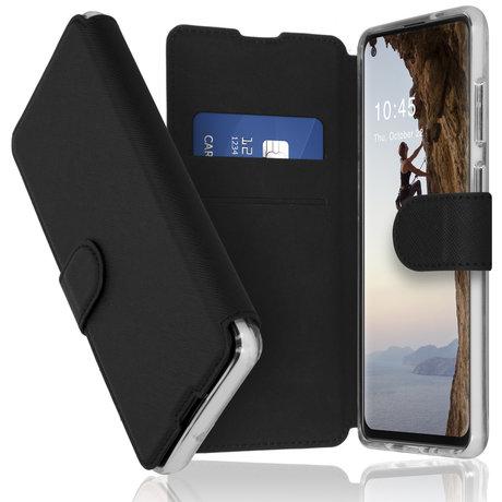 Accezz Xtreme Wallet Booktype Samsung Galaxy A21s - Zwart (D)