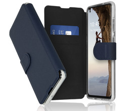 Accezz Accezz Xtreme Wallet Booktype Samsung Galaxy A21s - Donkerblauw (D)