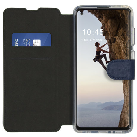 Accezz Xtreme Wallet Booktype Samsung Galaxy A21s - Donkerblauw (D)