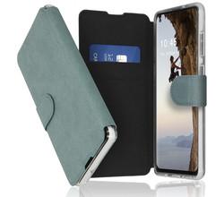 Accezz Accezz Xtreme Wallet Booktype Samsung Galaxy A21s - Lichtblauw (D)