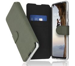 Accezz Accezz Xtreme Wallet Booktype Samsung Galaxy A21s - Lichtgroen (D)
