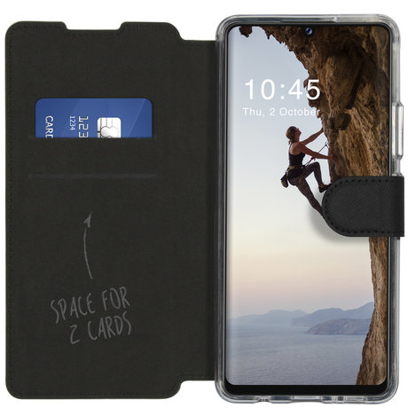 Accezz Xtreme Wallet Booktype Samsung Galaxy A42 - Zwart (D)