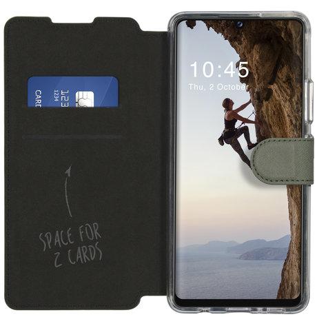 Accezz Xtreme Wallet Booktype Samsung Galaxy A42 - Lichtgroen (D)
