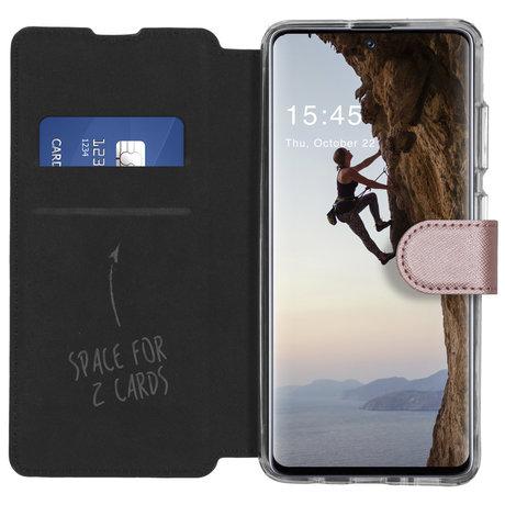 Accezz Xtreme Wallet Booktype Samsung Galaxy A51 - Rosé Goud (D)
