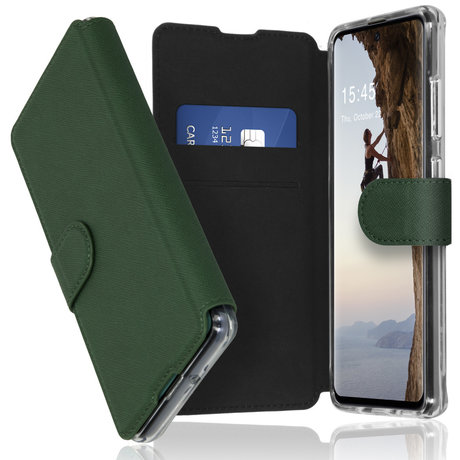 Accezz Xtreme Wallet Booktype Samsung Galaxy A51 - Donkergroen (D)