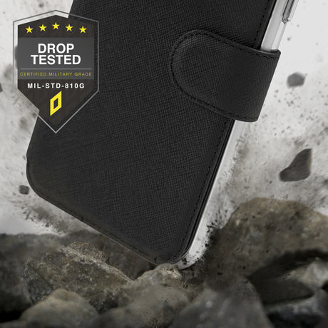 Accezz Xtreme Wallet Booktype Samsung Galaxy S20 FE - Zwart (D)