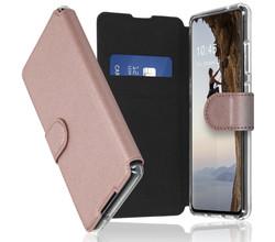 Accezz Accezz Xtreme Wallet Booktype Samsung Galaxy S20 FE - Rosé Goud (D)