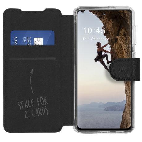 Accezz Xtreme Wallet Booktype Samsung Galaxy S21 - Zwart (D)