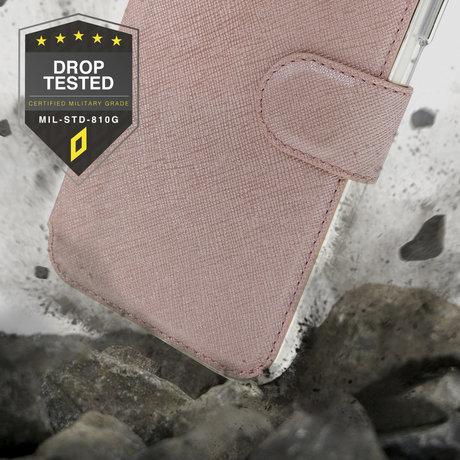 Accezz Xtreme Wallet Booktype Samsung Galaxy S21 - Rosé Goud (D)