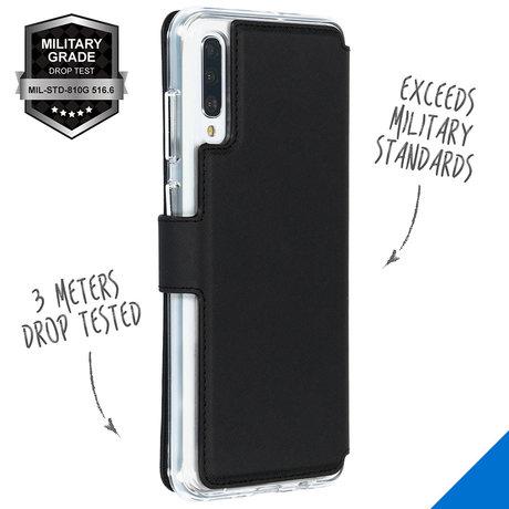 Accezz Xtreme Wallet Booktype Samsung Galaxy A70 - Zwart (D)