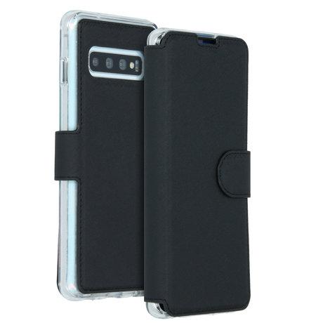 Accezz Xtreme Wallet Booktype Samsung Galaxy S10 - Zwart (D)