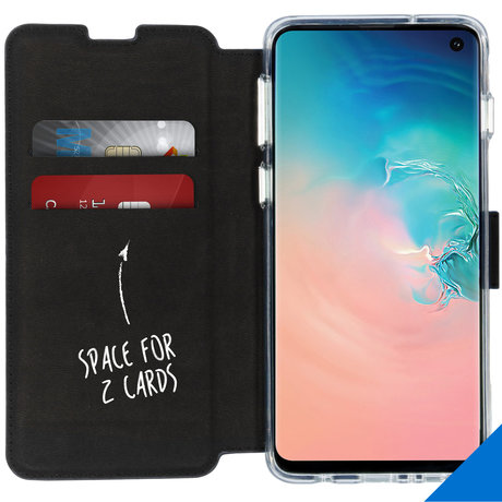 Accezz Xtreme Wallet Booktype Samsung Galaxy S10 - Donkerblauw (D)