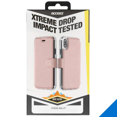Accezz Xtreme Wallet Booktype Samsung Galaxy S10 - Rosé Goud (D)