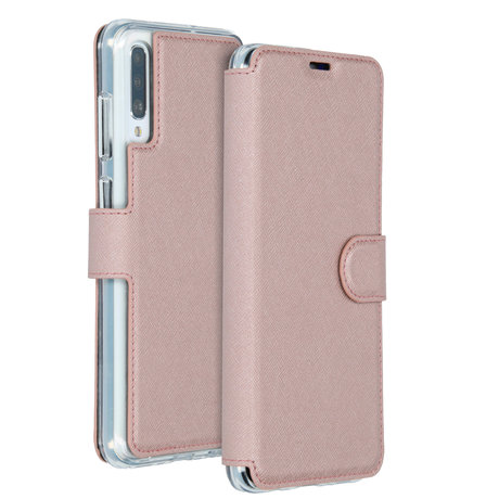 Accezz Xtreme Wallet Booktype Samsung Galaxy A70 - Rosé Goud (D)