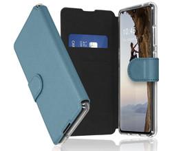 Accezz Accezz Xtreme Wallet Booktype Samsung Galaxy A70 - Lichtblauw (D)