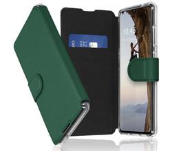 Accezz Accezz Xtreme Wallet Booktype Samsung Galaxy A70 - Donkergroen (D)