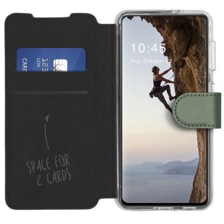 Accezz Xtreme Wallet Booktype Samsung Galaxy A72 - Lichtgroen (D)