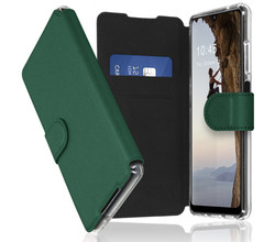 Accezz Accezz Xtreme Wallet Booktype Samsung Galaxy A32 (5G) - Donkergroen (D)
