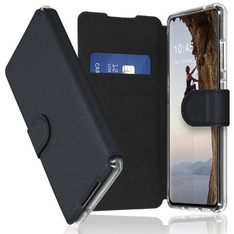 Accezz Xtreme Wallet Booktype Samsung Galaxy A72 - Zwart (D)