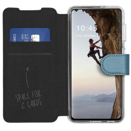 Accezz Xtreme Wallet Booktype Samsung Galaxy A72 - Lichtblauw (D)